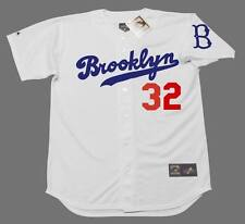 SANDY KOUFAX Brooklyn Dodgers Majestic Cooperstown Home Baseball Jersey