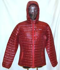 Patagonia Women's Ultralightweight Down Hoody, Oxblood Red, NWT, 35% OFF Sale
