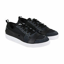 Puma MCQ Serve Lo Mens Black Textile Lace Up Sneakers Shoes