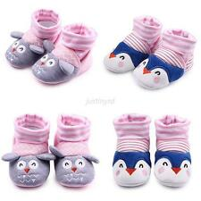 Sweet Newborn Infants Baby Toddler Girls Anti-Slip Socks Shoes Slipper Prewalker
