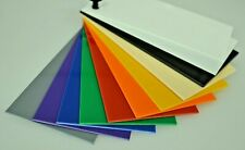 High Impact Polystyrene Sheet HIPS 1.5mm Thick Colours Vacuum Forming Material