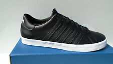 K-SWISS men's shoes black Belmont Leather Sneakers Trainers 39 - 49 NEW
