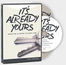 ITS ALREADY YOURS CD/DVD JOEL OSTEEN-BRAND NEW-SAME DAY SHIPPING