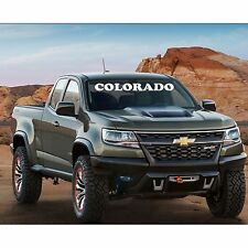 Windshield Decal COLORADO Window Banner Decal Sticker CHEVYROLET
