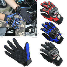 Full Finger Motorbike Motocross Fiber Pro-Biker Bike Racing Motorcycle Gloves