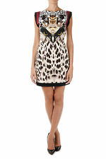 ROBERTO CAVALLI New Woman Tunic Sleeveless viscose Dress Made in Italy