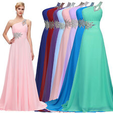 Maxi Bridesmaid Evening Long Ball Gowns Prom Party Wedding Formal Dresses HOT