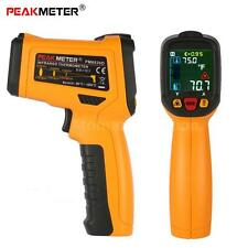 PEAKMETER Laser Non-contact Infrared LCD Digital IR Thermometer 3-type X2Z0