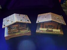 2 SWISS CHALET/VINTAGE/MUSICAL BOXES/THE GYPSY BARO/WEGGISSERLIED