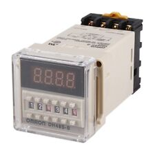 0.1s-99h Programmable Digital Timer Double Time Delay Relay AC 110V/220V New