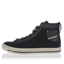 DIESEL Man Leather and Fabric MAGNETE EXPOSURE I High Sneakers New with tags