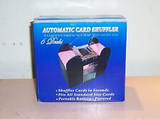 Casino Style Machine Automatic Card Shuffler Deck Poker Playing Quickly