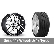"""4 x 19"""" TSW Nurburgring Forged Alloy Wheel Rims and Tyres -  285/30/19"""