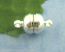 Wholesale HOT Silver Plated Strong Magnetic Clasps 8x14mm