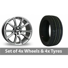 "4 x 19"" BBS SV Anthracite Alloy Wheel Rims and Tyres -  225/40/19"