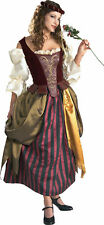 Renaissance Maiden Adult Women's Halloween Costume Medieval Fancy Dress 56129