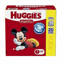Huggies Snug & Dry Diapers Snugfit Waistband Leakage Protection Choose Your Size