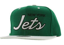 NWt NFL Authentic Mitchell and Ness New York Jets Snapback Hat Wool