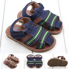 Baby Boys Toddler Boys Leather First Shoes Sandal Prewalker 0-18 Months DB2309