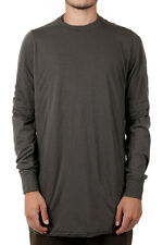 RICK OWENS DRKSHDW New Men darkdust Long sleeve Tee HUSTLER LAYERED t-shirt NWT