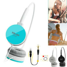 Portable Bass Stereo Headset Headphones For iPhone For Samsung PC MP3 Tablet New