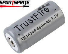TrustFire 880mAh 16340 3.6V Rechargeable Li Battery W/PCB Protected Or Without