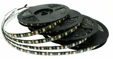 Black PCB 5050 SMD 5M Flexible LED Strip DIY Ribbon Lamps Xmas Home Car Decor