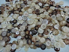 9-24mm 20/50/100grams ASSORTED COLORS/SIZE SEWING BUTTON MIXED LOTS BW8960