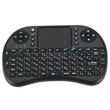 Mini Wireless Russian Keyboard Handheld Air Mouse Touchpad Remote Control T5X7