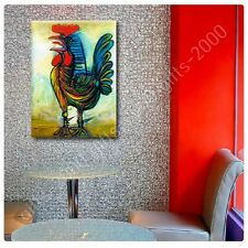 Synthetic CANVAS +GIFT The Rooster Pablo Picasso Pictures Painting Paintings