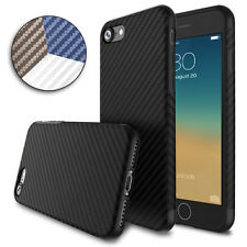 Allergy-proof Carbon Fiber Pattern TPU Back Case for Apple iPhone 7 / 7 Plus Hot