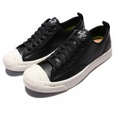 Converse Jack Purcell M-Series Leather Black Egret Mens Casual Shoes 153616C