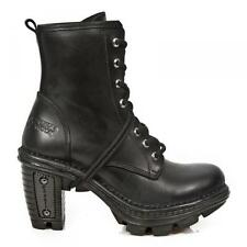 Leather Boots Ankle boots m. lacing new SKIRT m.NEOTR008-S18 Goth Punk new