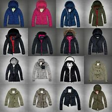 NWT Abercrombie&Fitch Womens Parka Coat Jacket Puffer All Weather Sz XS/S/M/L