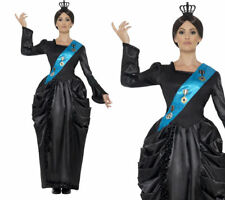 Queen Victoria Costume Deluxe Ladies Royalty Queens Fancy Dress Outfit