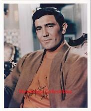 ON HER MAJESTY'S SECRET SERVICE George Lazenby SIGNED Autograph 8x10 Color Photo