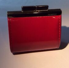Fiorelli Coin Purse - Patent Red - Clasp Opening - Excellent Condition