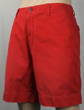 POLO Ralph Lauren Red Chino Shorts Navy Blue Pony NWT