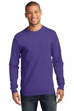 Port & Company PC61LS Mens Long Sleeve Essential T-Shirt NEW