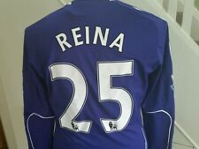 Match Worn PEPE REINA   PLAYER WORN Shirt  GENUINE LIVERPOOL FC ,TECHFIT ADIDAS