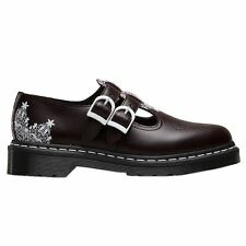 Dr.Martens Mary Jane 8065 Lace Smooth Oxblood Womens Shoes