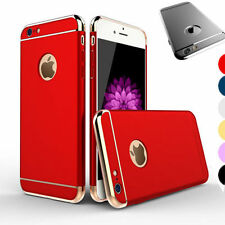 Luxury Ultra-thin Electroplate Hard Back Case Cover for Apple iPhone 5 6S 7 Plus