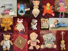 Baby Soft Toy Comforter Blankie Soother & Activity Toys