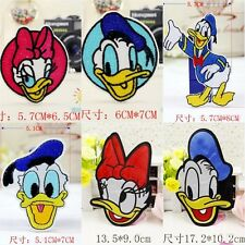 10pcs/set Cute Ducks Embroidered Iron/Sew/Glue On Patches Applique Motif