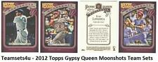 2012 Topps Gypsy Queen Moonshots Baseball Team Sets ** Pick Your Team Set **