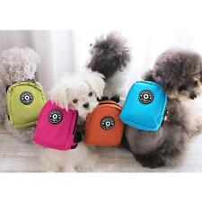 Pet Puppy Dog Bag Backpack with Leash Lead Rucksack Food Carrier Bag Outdoor