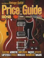 2015 Official Vintage Guitar Price Guide Electric Accoustic Amps Bass Banjo MORE