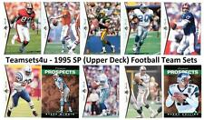 1995 SP (Upper Deck) Football Team Sets ** Pick Your Team Set **