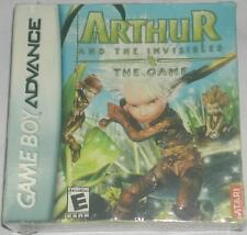 Nintendo Game Boy Advance Arthur And The Invisibles The Game New In Box