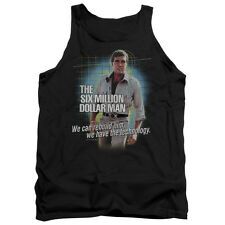The Six Million Dollar Man Technology Mens Tank Top Shirt